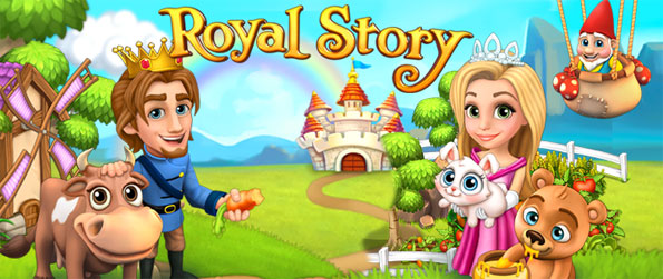 Royal Story - Farm all sorts of fresh produce and build back your empire to be the rightful heir to your kingdom in Royal Story.