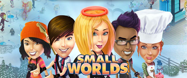 Small Worlds - Explore the many worlds and have fun with your friends in this brilliant social virtual world game, SmallWorlds!